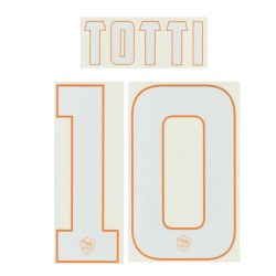 AS Roma 10 Totti's name and number home shirt 2014/15