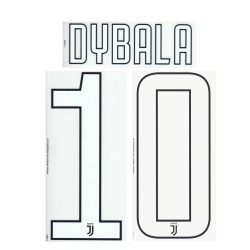 Juventus 10 Kick name and number home shirt third 2017/18