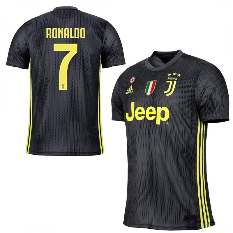 low priced 290b7 46b04 Juventus 7 Ronaldo jersey third 3rd 2018/19 Adidas