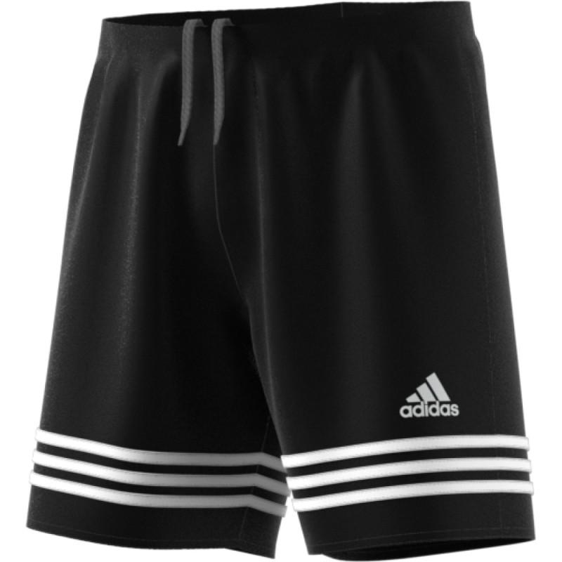 Adidas pantalones cortos de fútbol de baloncesto de Entrada 14 Negro