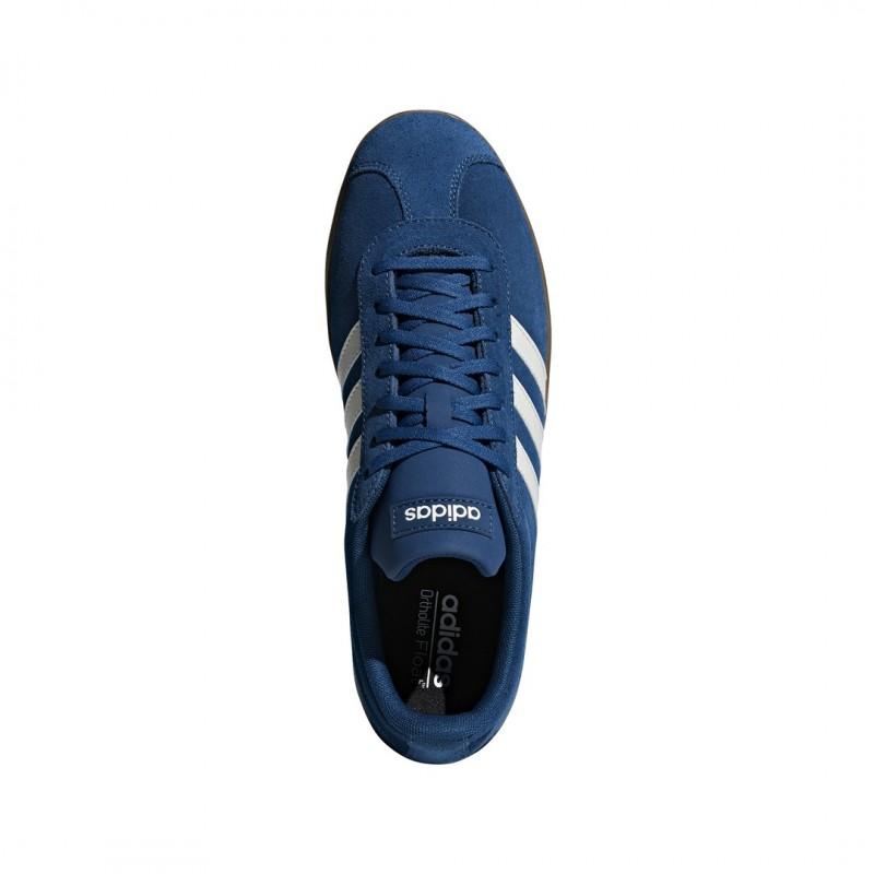 Adidas VL Corte 2.0 Patineta Zapatillas de deporte de los Zapatos de la  Leyenda Marina c953374b7c5db