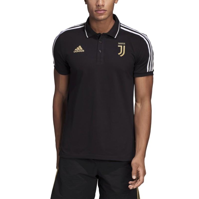 Juventus noir chemise polo 2018/19 Adidas