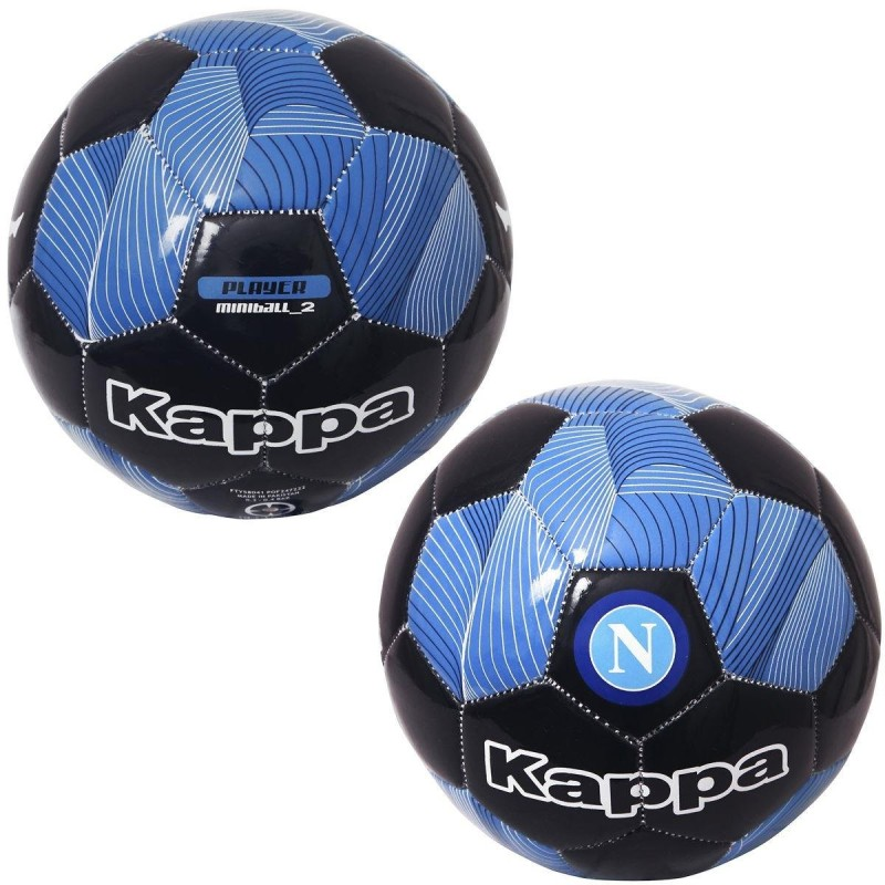 Le SSC Napoli bleu de l'équipe de ballon Kappa