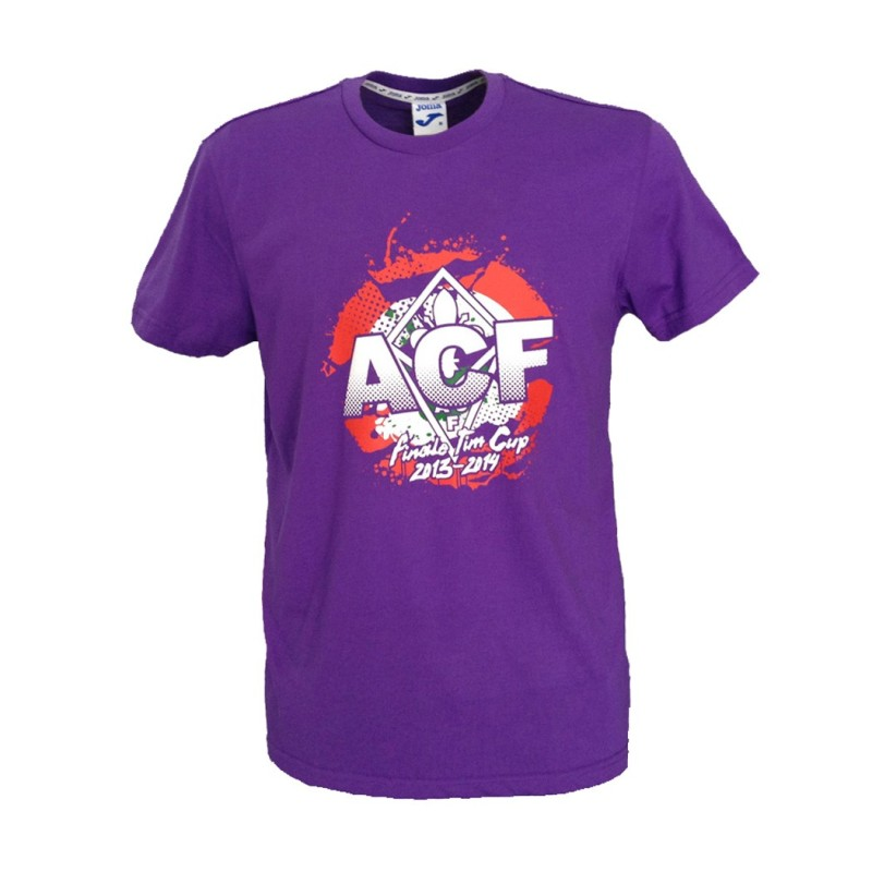 Fiorentina t-shirt celebrativa finale TIM CUP 2014 Joma