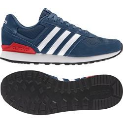 Adidas chaussures de 10K bleu blanc Baskets Neo