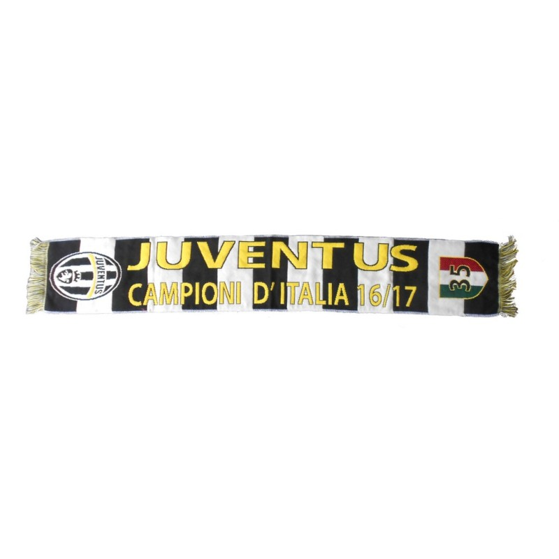 Schal Juventus turin 35 Scudetto Italien meister 2016/17 offizielle