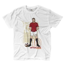 Pupone t-shirt Amarcord 10 Captain 1992/2017 white