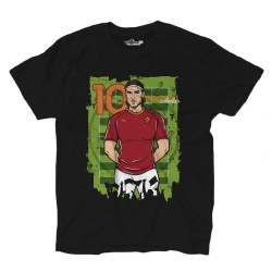 Amarcord 10 Pupone t-shirt Captain 1992/2017 black