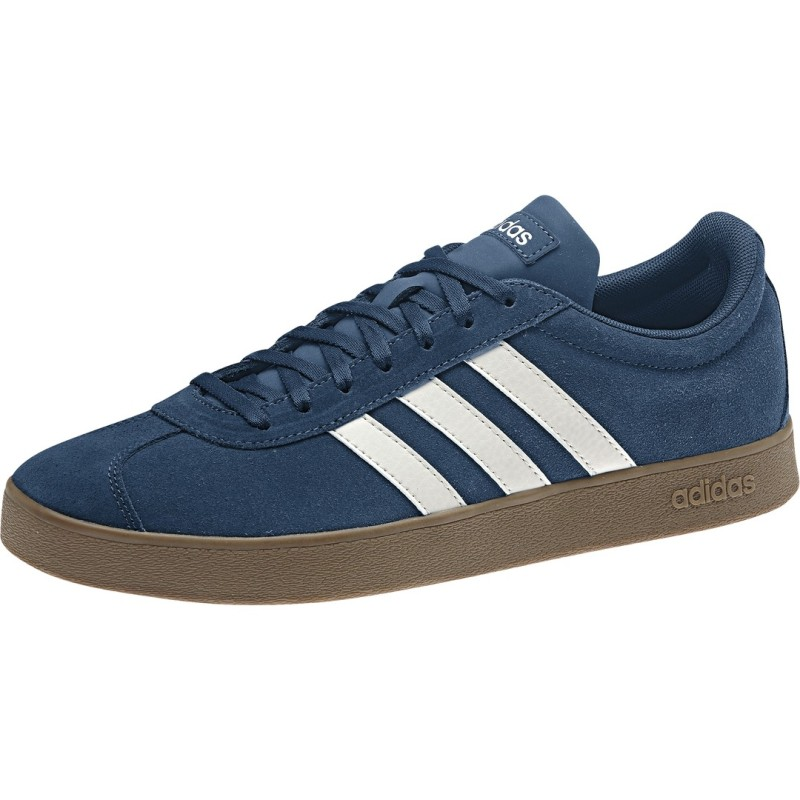 Adidas VL Court 2.0 Skateboard Sneakers Shoes Legend Marine
