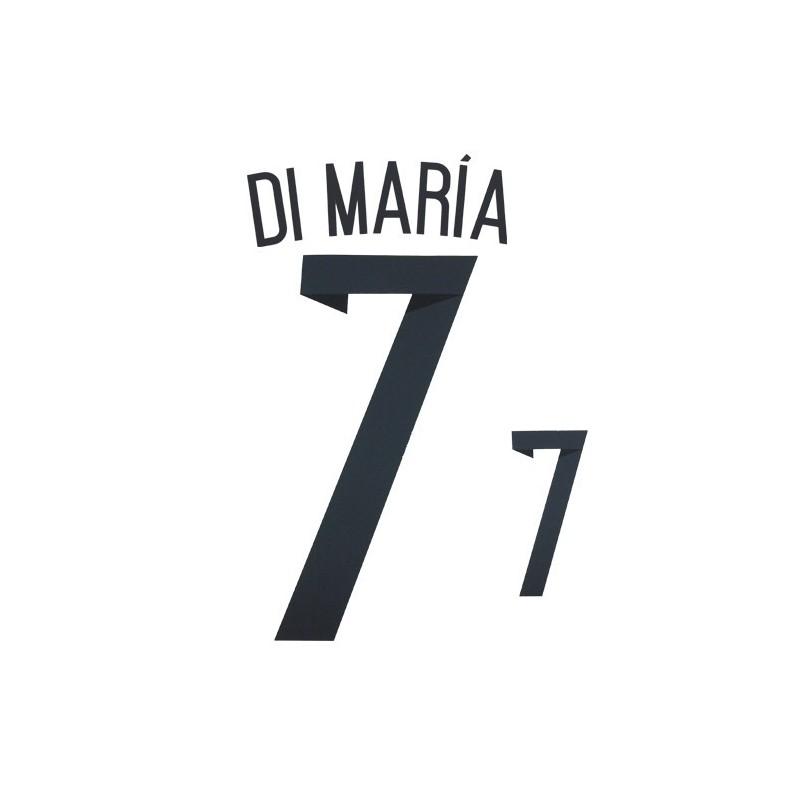 Argentinien 7 Maria-namen-und zahl-trikot home 2014/16