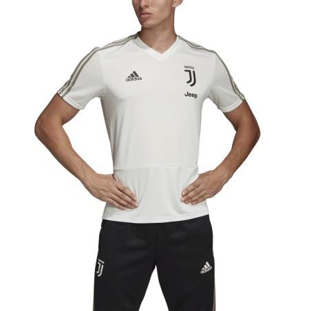 Juventus maillot d'entraînement blanc 2018/19 Adidas