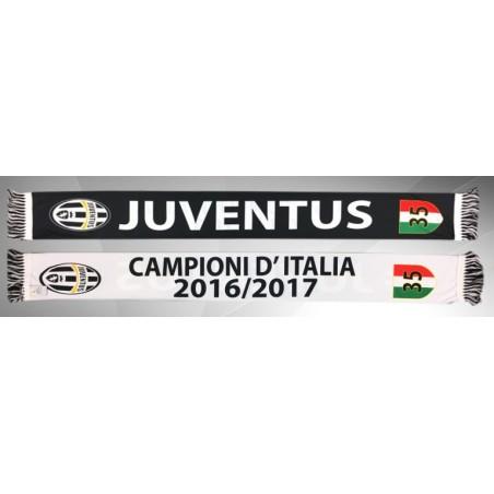 Juventus sciarpa Vip 35 scudetto Campioni d'Italia 2016/17
