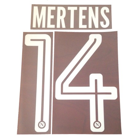 Neapel 14 Mertens name und nummer auf trikot home 2017/18
