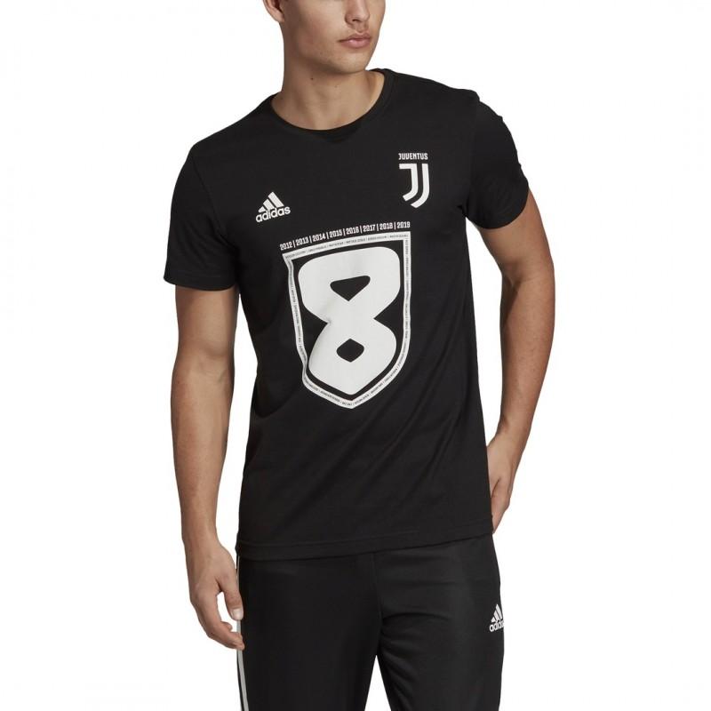 adidas Juventus 8 t-Shirt Bambino Campione dItalia 37 Scudetto