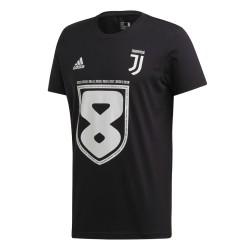 Juventus 8 t-shirt bambino Campione d'italia 37 scudetto Adidas