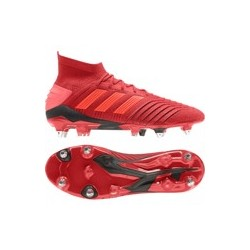 Adidas Chaussures Rouge 1 De Predator Football 19 Sg Aj35RLq4c