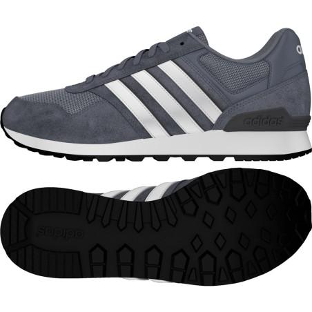 Adidas schuhe 10K grau weiß Sneakers Neo