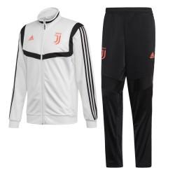 Juventus tracksuit bench white 2019/20 Adidas