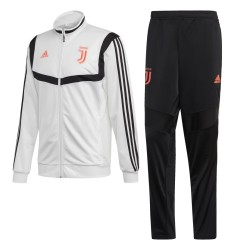 La Juventus de chándal banquillo blanco 2019/20 Adidas