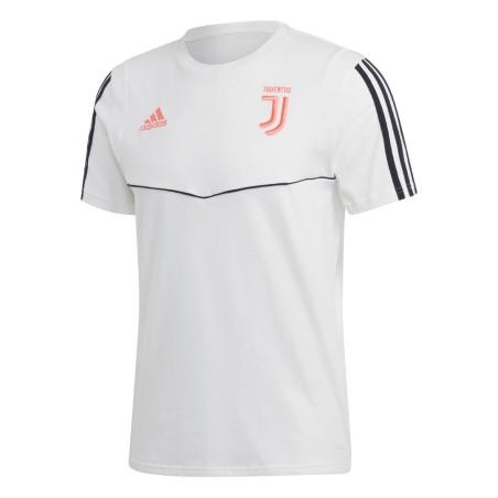 Juventus t-shirt reste de l'équipe de blanc 2019/20 Adidas