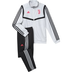 Juventus tracksuit bench white child 2019/20 Adidas