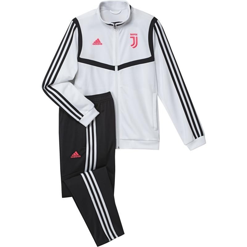 Juventus tracksuit bench white child 2019/20 Adidas