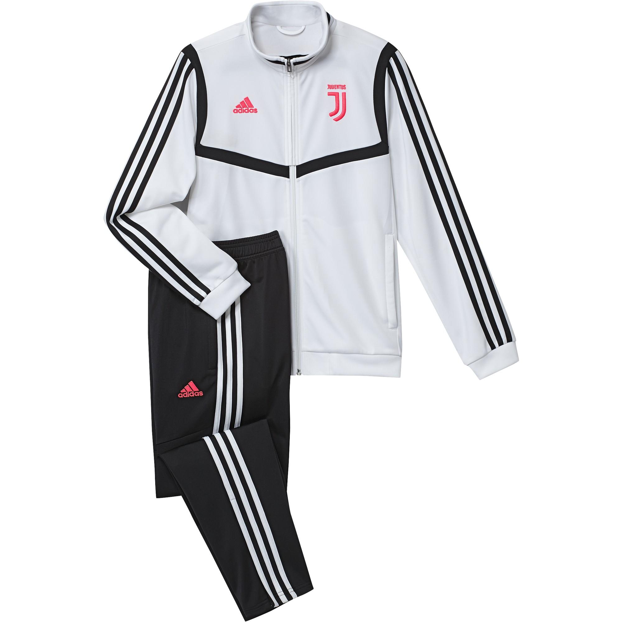La Juventus de chándal de banco niño blanco 201920 Adidas