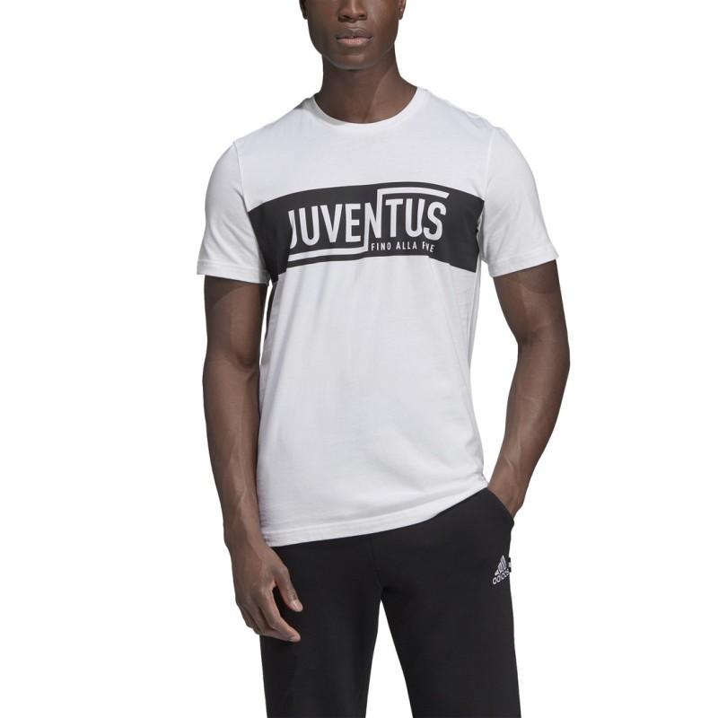 Juventus t-shirt graphic street white 2019/20 Adidas