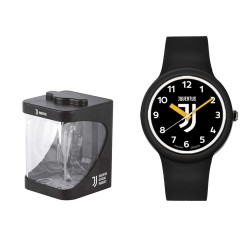 Juventus watch One unisex black official logo