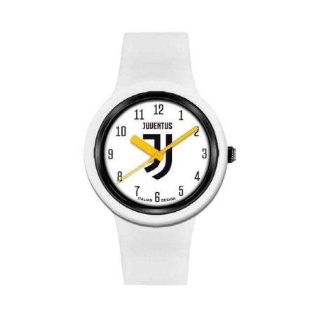 Juventus orologio One unisex bianco logo