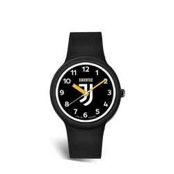 Juventus watch One Kid unisex child black logo JJ