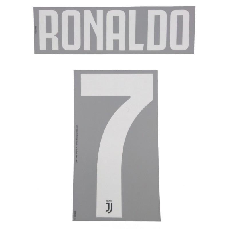 Juventus 7 Ronaldo name and number shirt baby home 2019/20