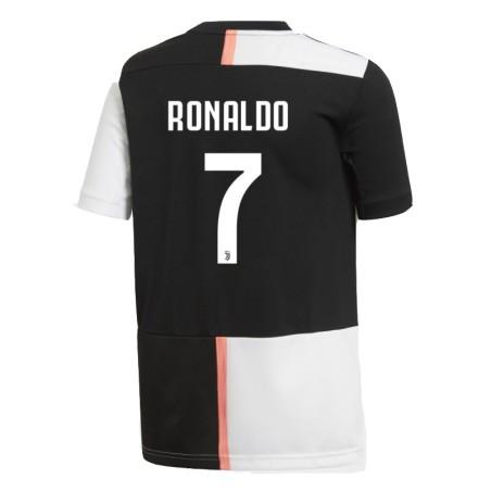 Juventus 7 Ronaldo jersey child home junior 2019/20 Adidas