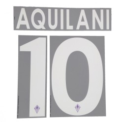 Fiorentina 10 Aquilani's name and number home shirt 2013/14