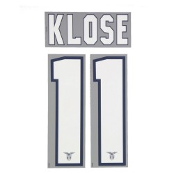 Lazio 11 Klose name and number home shirt 2013/14