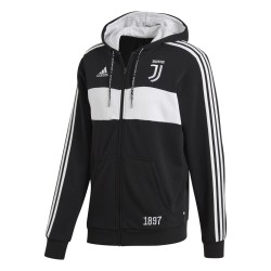 Juventus sweatshirt 3 Stripes hooded 2018/19 Adidas
