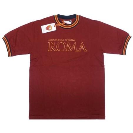 Roma t-shirt rappresentanza bambino rossa
