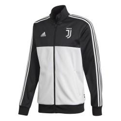 Juventus turin sweatshirt Track Top-3 Streifen-schwarz Adidas 2019/20