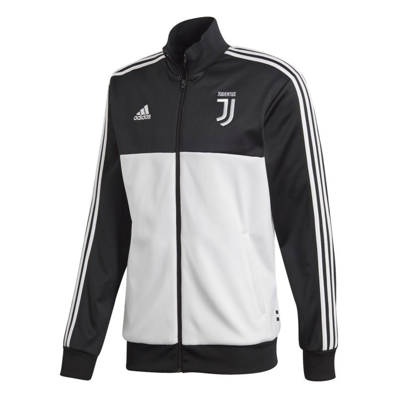 Sweat-shirt de la Juventus Track Top 3 Bandes noires Adidas 2019/20