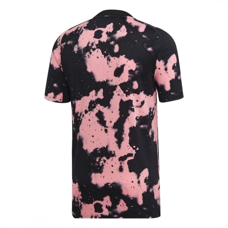 Juventus turin pre match trikot rosa schwarz 201920 Adidas