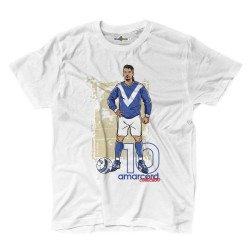 Le divin pony Tail, et d'un t-shirt Amarcord Baggio