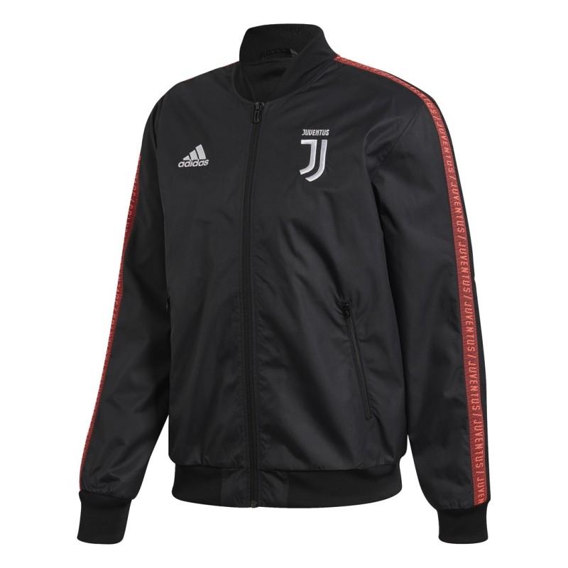 La Juventus Hymne veste noir 2019/20 Adidas