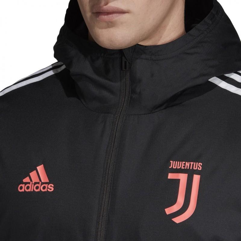 Juventus jacke kragen schwarz 201920 Adidas