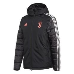 La Juventus veste matelassée noir 2019/20 Adidas