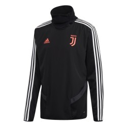 La Juventus de formation sweat-shirt noir 2019/20 Adidas