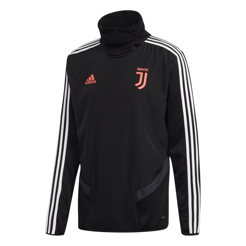 La Juventus de formation sweat-shirt noir 2019/20 Adidas