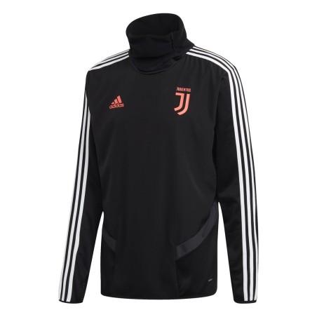 Juventus felpa allenamento nera 2019/20 Adidas