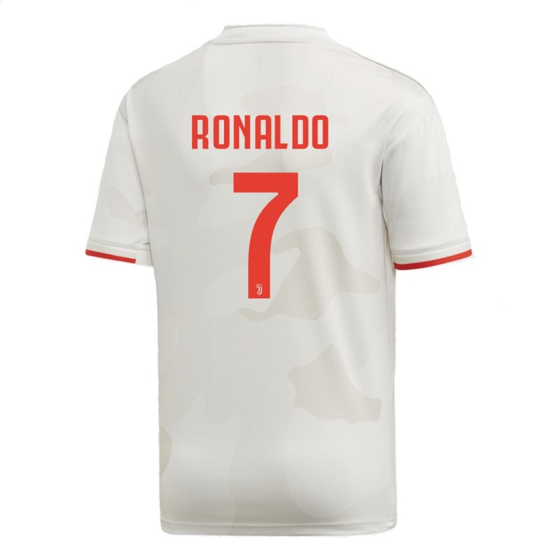 Juventus 7 Ronaldo trikot kinder away junior 2019/20 Adidas