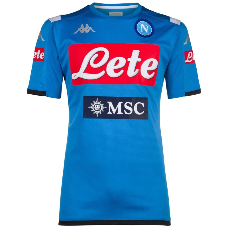 Napoli training shirt Abouo 3 blue 2019/20 Kappa