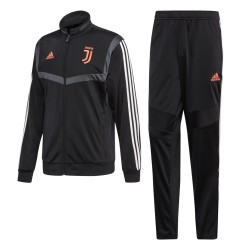 La Juventus de chándal de banco negro 2019/20 Adidas